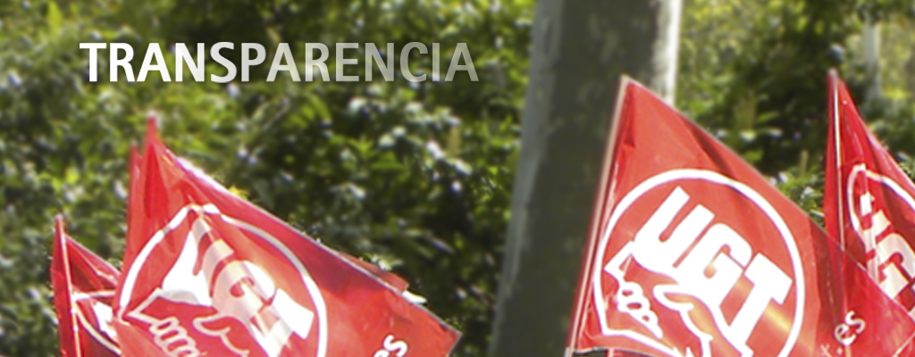 Unión General de Trabajadores Castilla y León Transparencia
