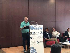 Pepe Álvarez, Secretario General #UGT, clausura #ClubPrensaMundoCyL El Sector Multiservicios ante los nuevos retos laborales #PrecarioNo