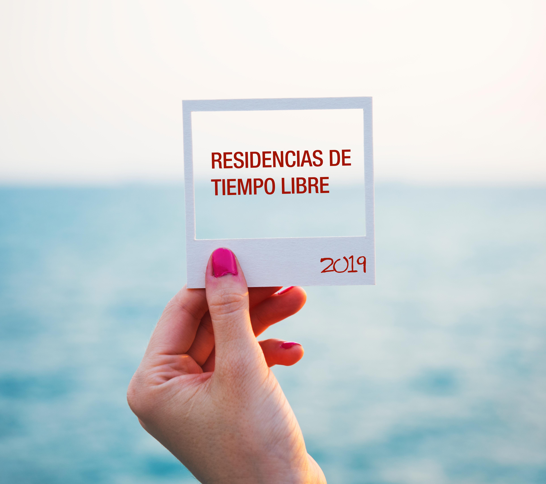 RESIDENCIAS DE TIEMPO LIBRE 2019
