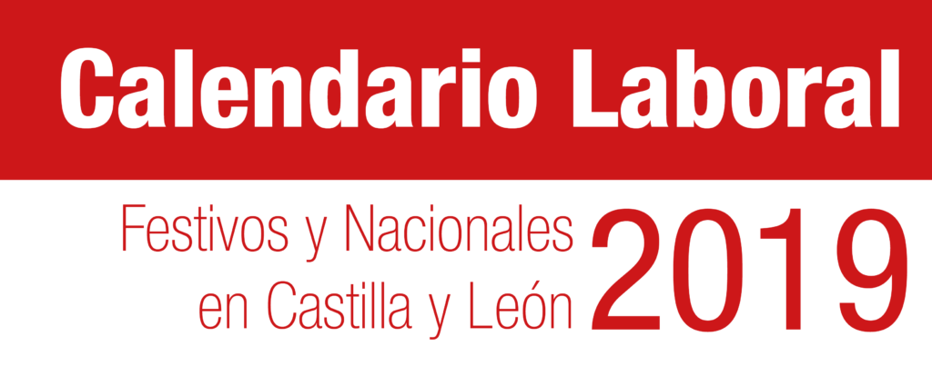 Calendario Laboral CyL 2019