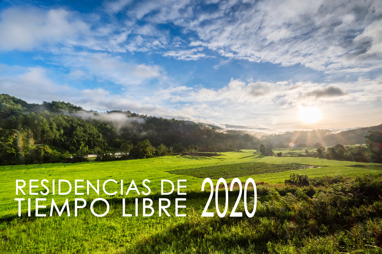 Residencias Tiempo Libre 2020