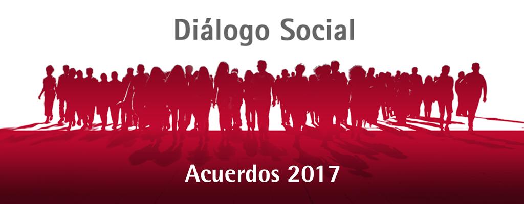 UGT Acuerdos dialogo Social 2017