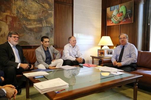 Reunión del Consejo del Diálogo Social con el Presidente de la Junta de Castilla y León