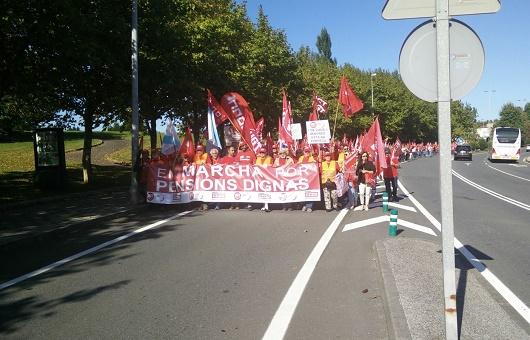 marchas #PensionesDignas