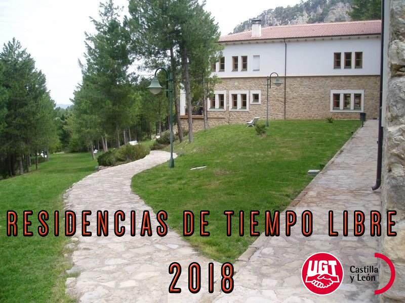 Residencias de Tiempo Libre 2018