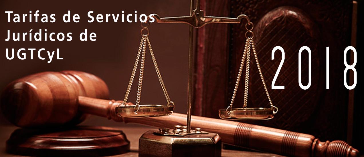 Tarifas de Servicios Jurídicos 2018