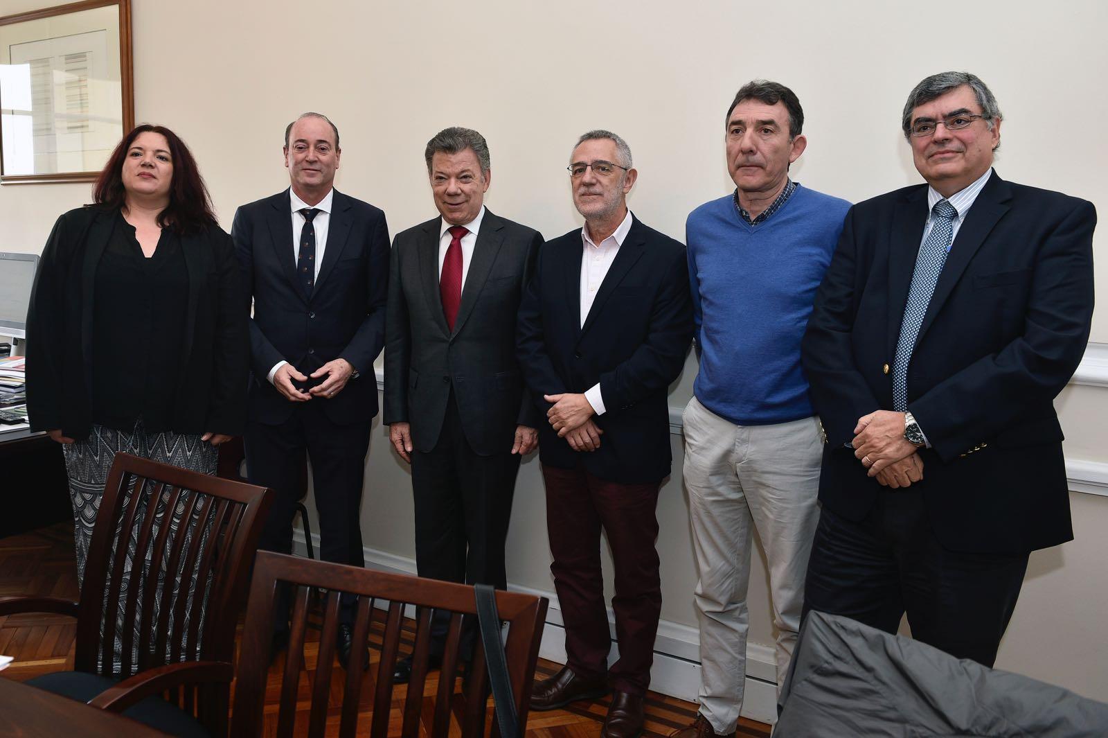 >Representación de la Mesa de Diálogo Social en Colombia