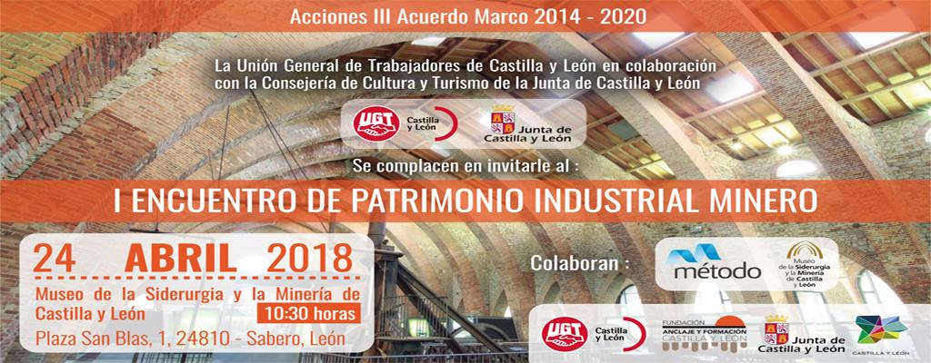 24 Abril Encuentro patrimonio industrial minero_UGT