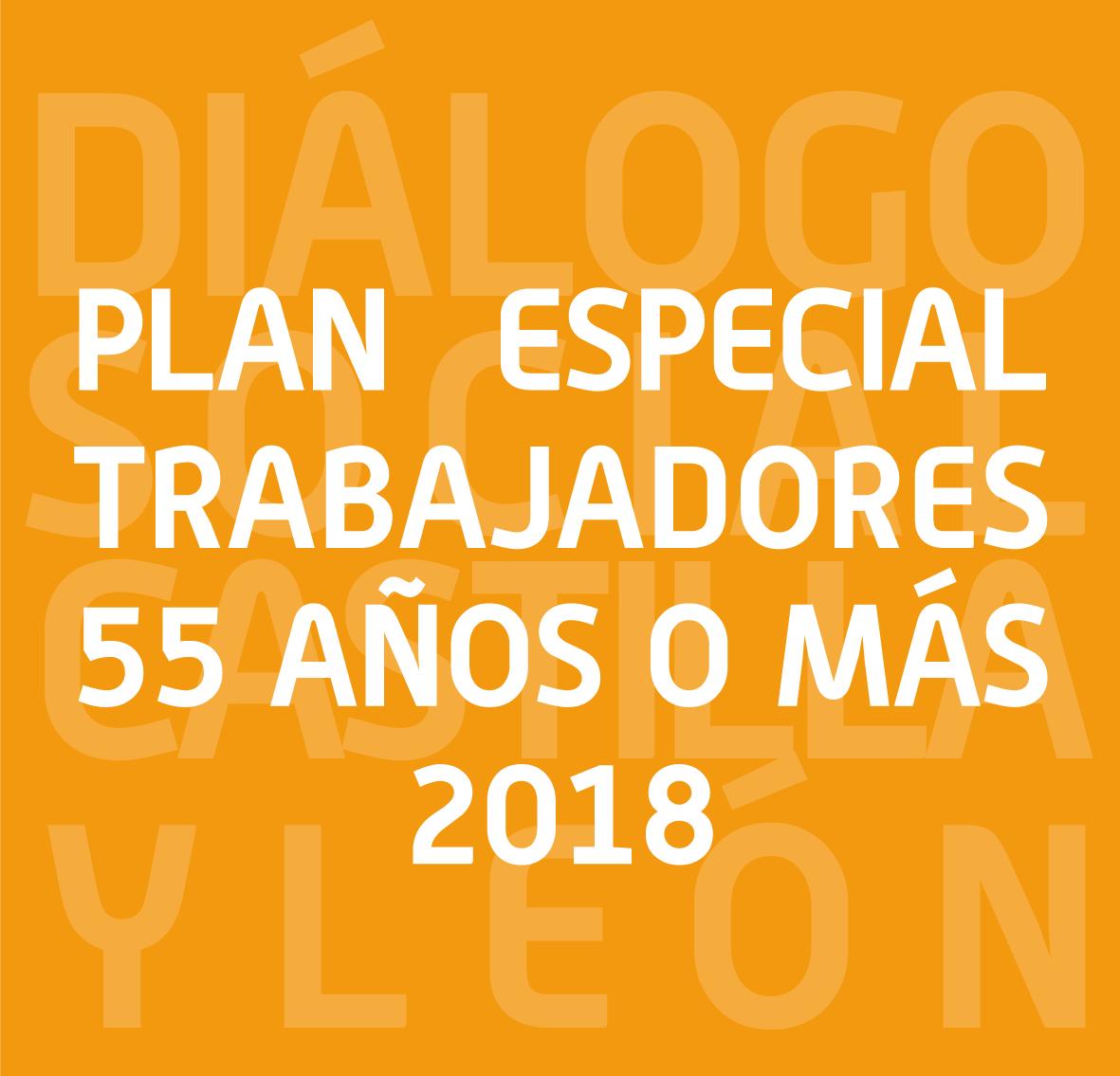 plan Especial para trabajadores de más de 55 años 2018