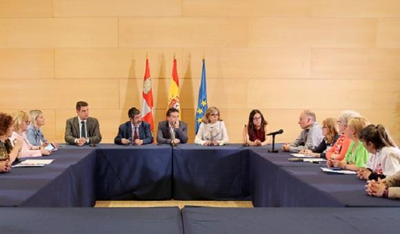 Reunión con los portavoces parlamentarios
