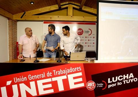 UGTCyL presenta el Mapa del Patrimonio Industrial Minero de Castilla y León