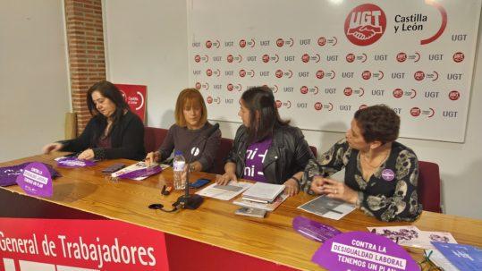 Rueda de prensa Campaña Contra la desigualdad Laboral tenemos un plan