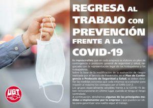 REgreso al Trabajo con prevención frente al COVID19