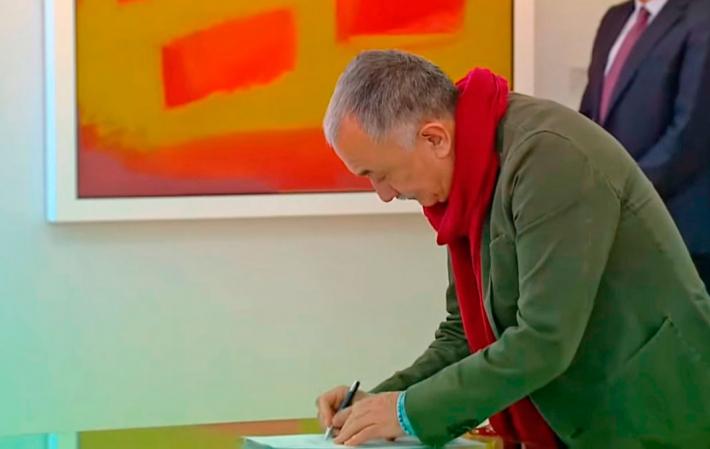 Pepe Alvarez firma acuerdo social mayo 2020 ugt