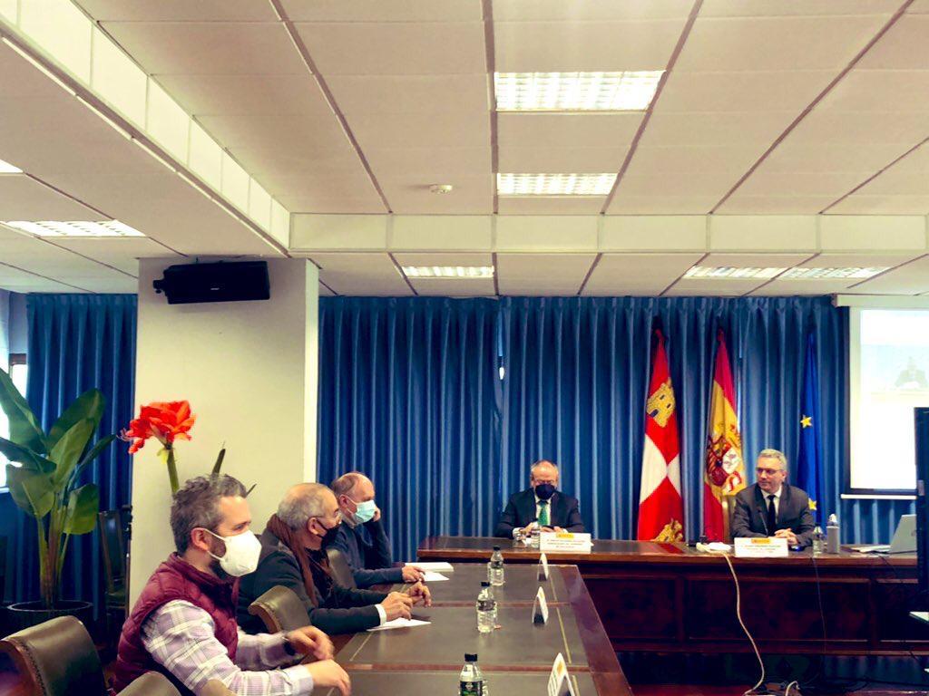 UGT se reúne junto a CCOO con el Delegado de Gobierno de CyL para abordar el Plan Europeo de Recuperación, Transformación y Resiliencia en la comunidad