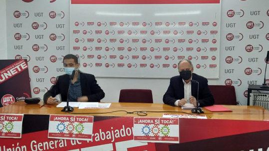 UGT y CCOO llevarán a cabo movilizaciones en las ciudades de Castilla y León el próximo 11 de febrero bajo el lema #AhoraSíToca