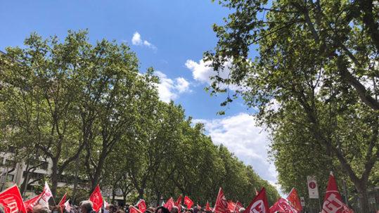 UGT y CCOO regresan a las calles de Castilla y León el 1ª de Mayo de 2021