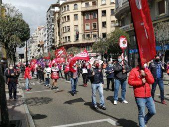 1º de Mayo manifestación en León