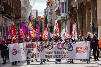 Manifestación del 1 de Mayo en Palencia