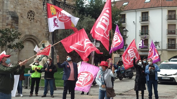 Manifestación del 1 de Mayo en Zamora