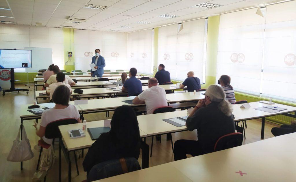 formación de delegados y delegadas